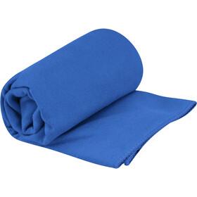 Sea to Summit Drylite Handdoek Antibacterieel S, cobalt blue